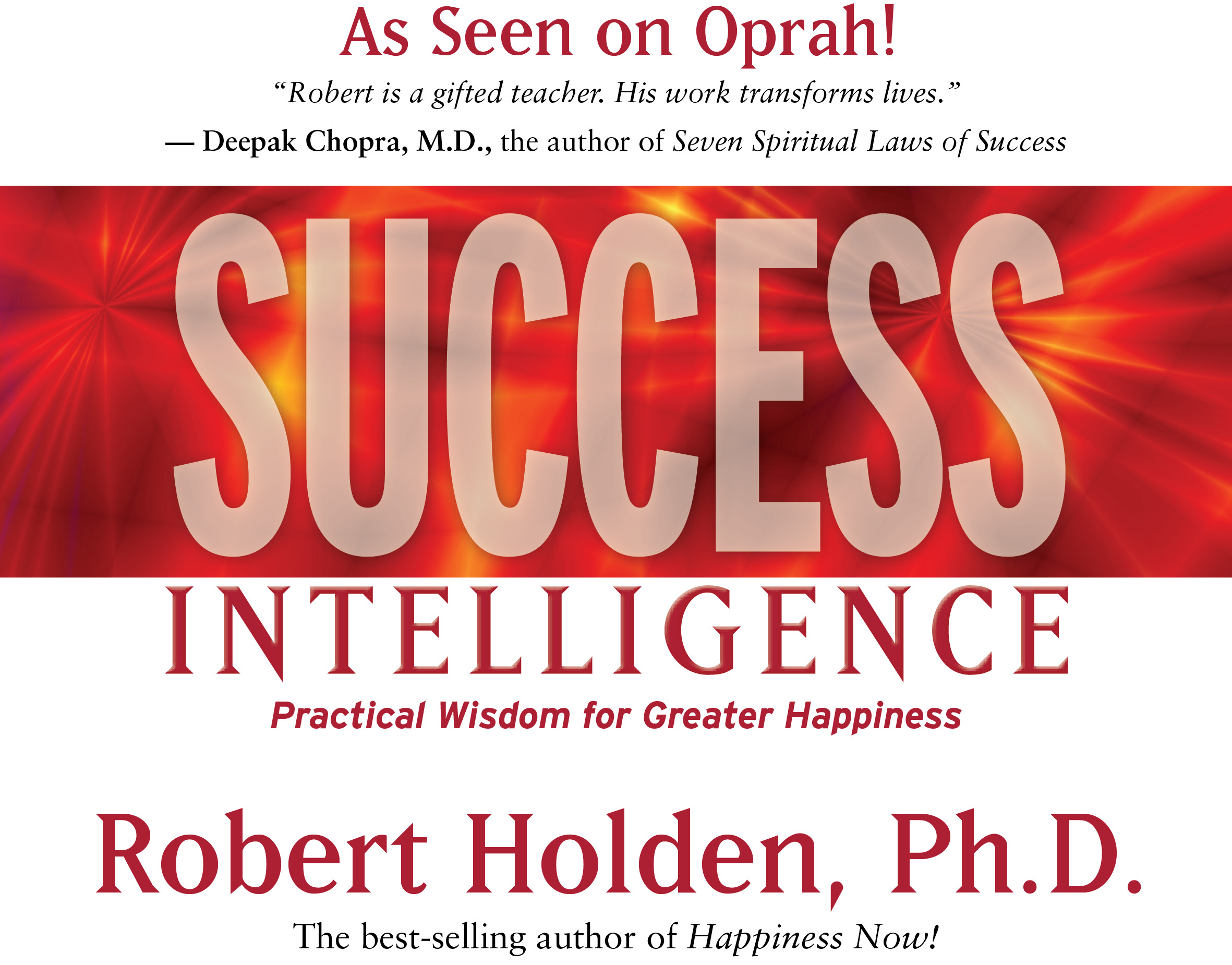 Success Intelligence Robert Holden Ph D