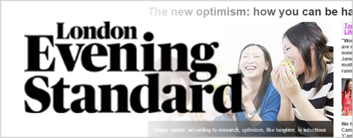 London Evening Standard - The New Optimism: How You Can Be Happy