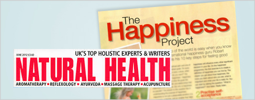 Natural Health Magazine - The Happiness Project