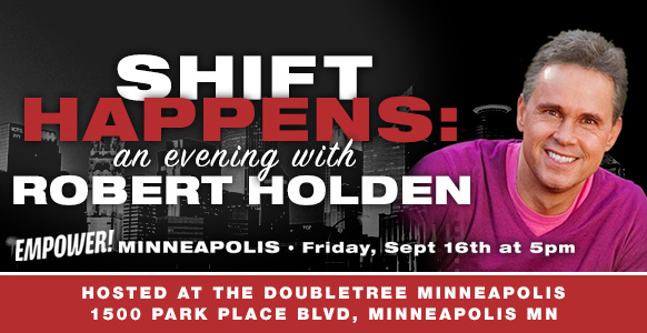 Shift Happens - An Evening with Robert Holden