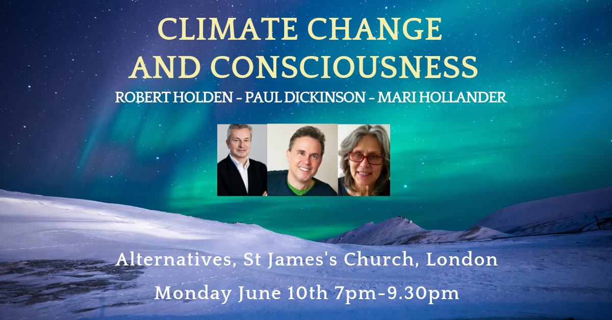 Climate Change and Consciousness Evening Talk
