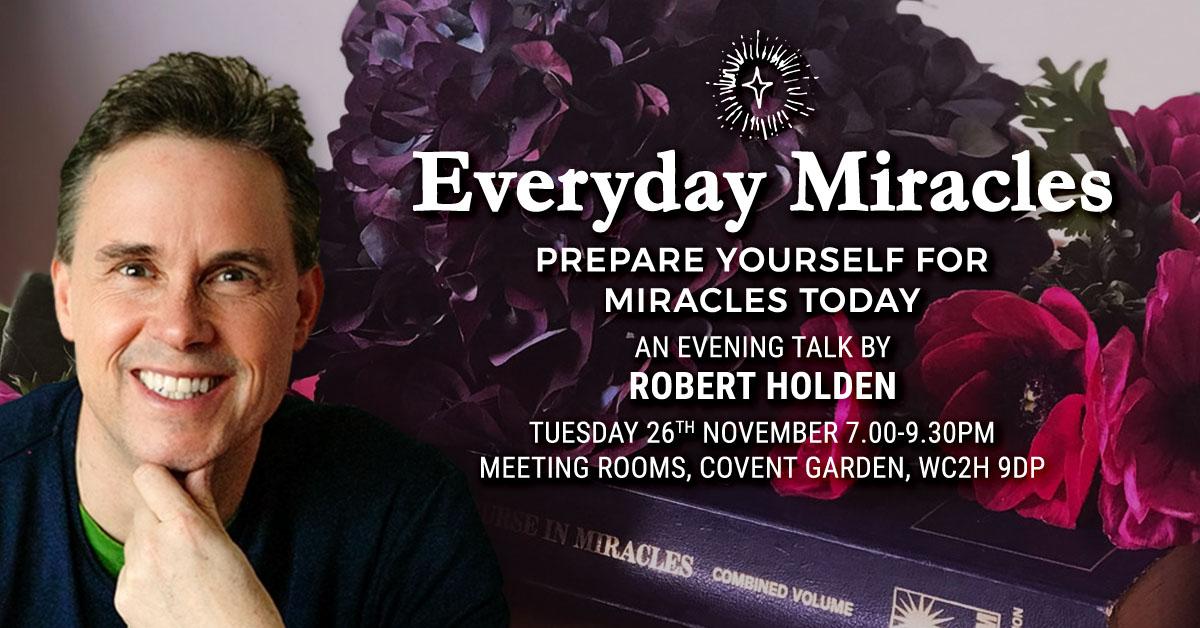 Evening Talk: Everyday Miracles
