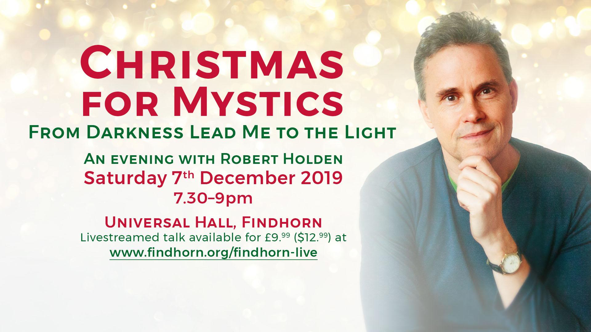 Evening Talk: Christmas For Mystics (Livestream)
