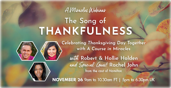The Song of Thankfulness - free Thanksgiving webinar